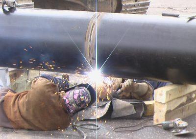welding pipe thefirekettle.com Bountiful, Utah welder