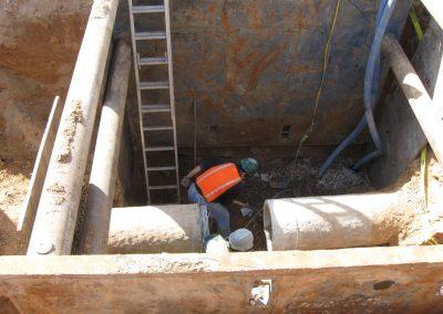 shotcoat pccp pregame for valve install Weber County, Utah shot coat welding