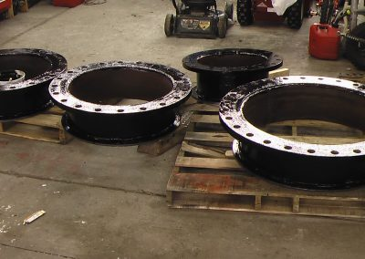 flanges for the ready. Pipe Welding in Salt Lake City, Utah