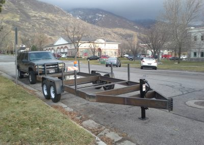 custom concrete cement forms trailer ATV UTV trailer repair welder, Salt Lake City, Utah