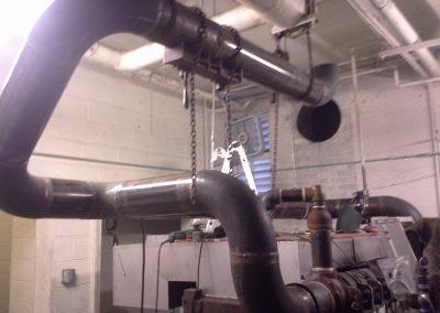 welding on boiler steam pipe Bountiful, Utah