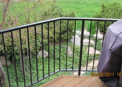 handrail repair Kaysville, Utah property maintenance welding thefirekettle.com