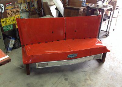 1971 Classic Chevy Truck Hood Bench TheFireKettle.com Pleasant Grove, Utah Custom Welding