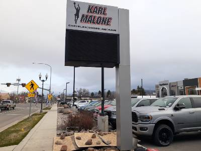 Commercial Sign Removal and Installation Welding Salt Lake City Utah
