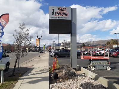 New Commercial Sign Installation Mobile Welding Salt Lake Utah