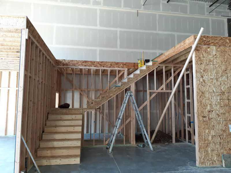 Before handrail Installation Uintah, Utah